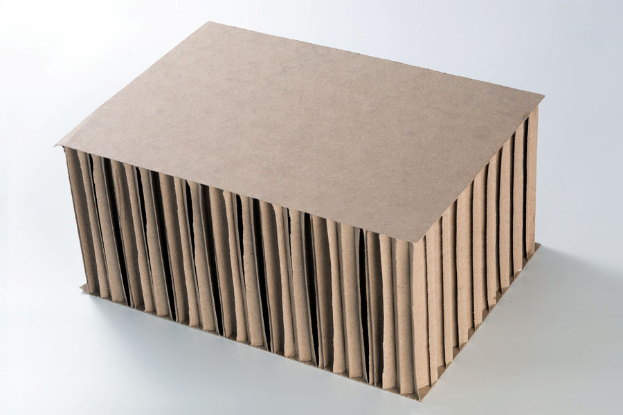 Honeycomb boards, High compressive strength and / or very good surface finish effect, especially for high duarbility.